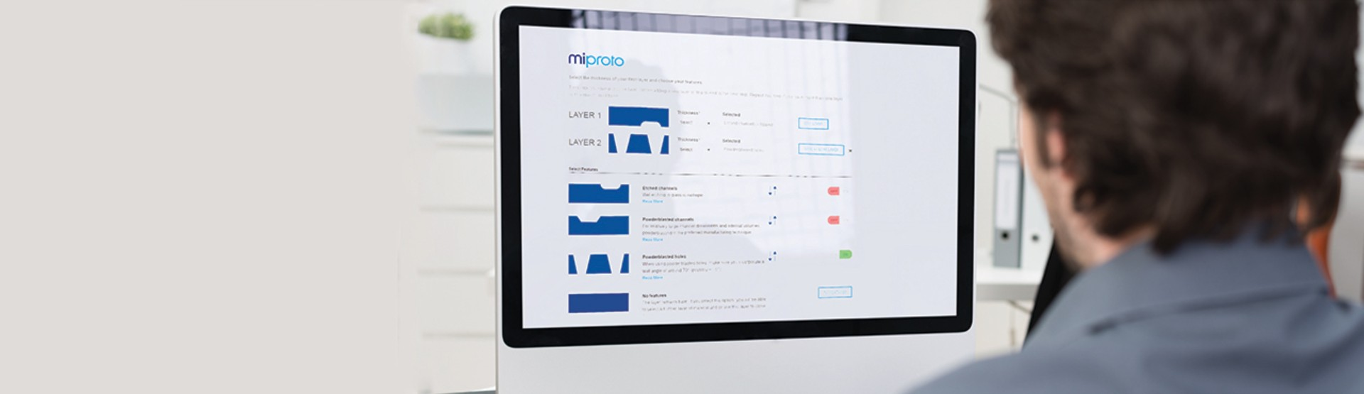 Prototyping, online tool in Micronit's web store